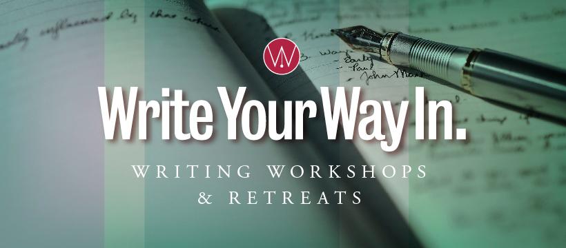Write Your Way In Online Workshops